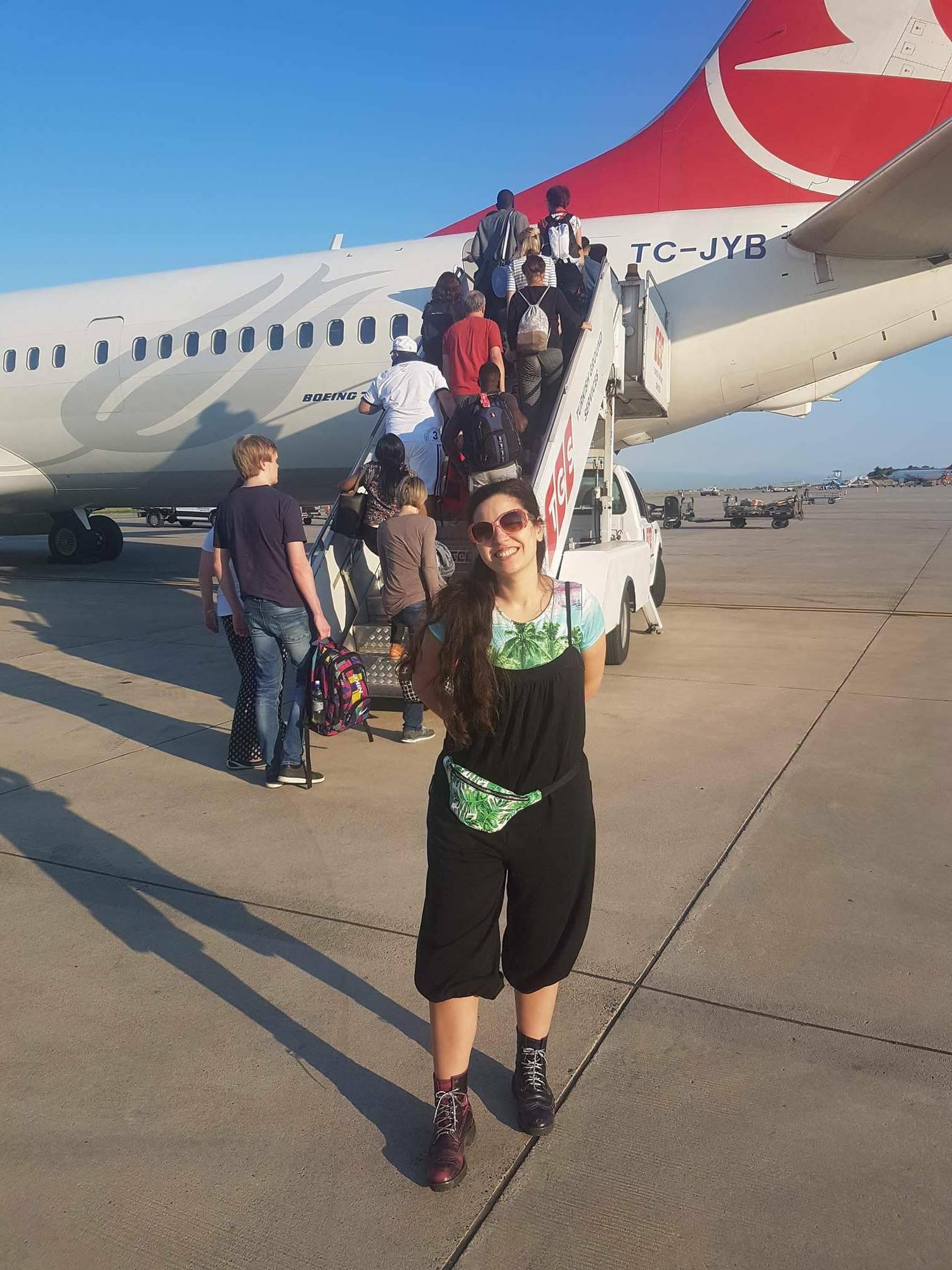 off to Tanzania