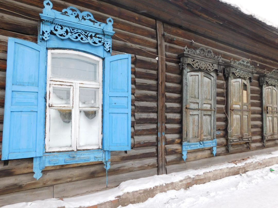 Ulan-Ude , Siberia in winter!