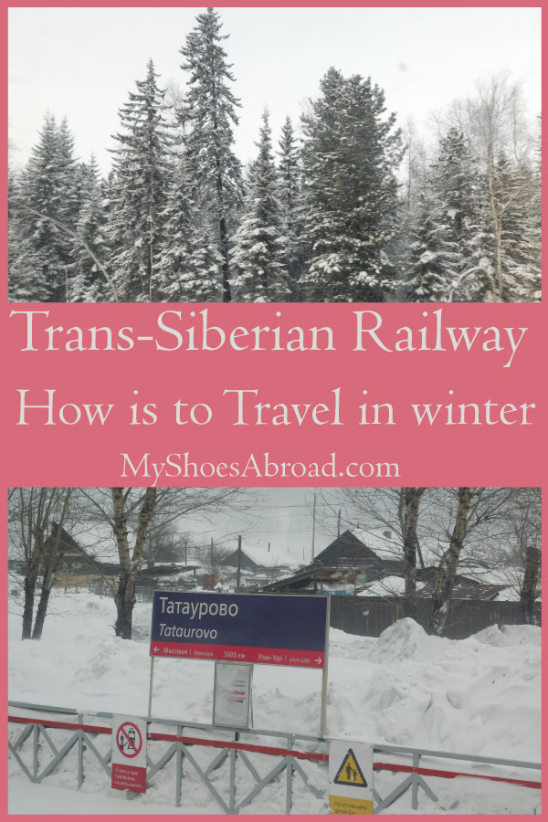 How is to travel in wintertime with Trans-Siberian railway?