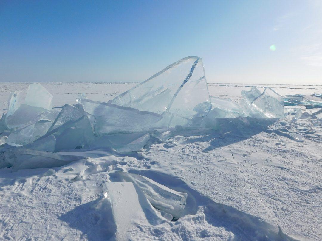 ice landscape Siberia