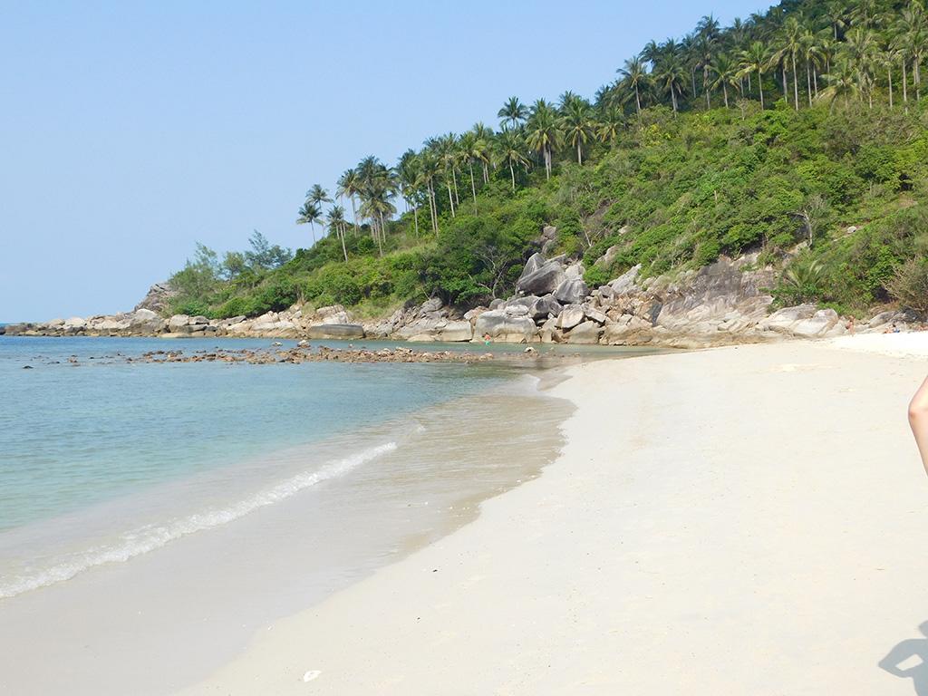best beaches Phangan