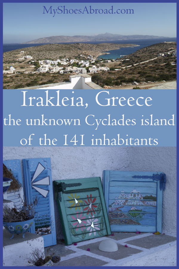 Things to do in Irakleia islands where less than 150 people live!
