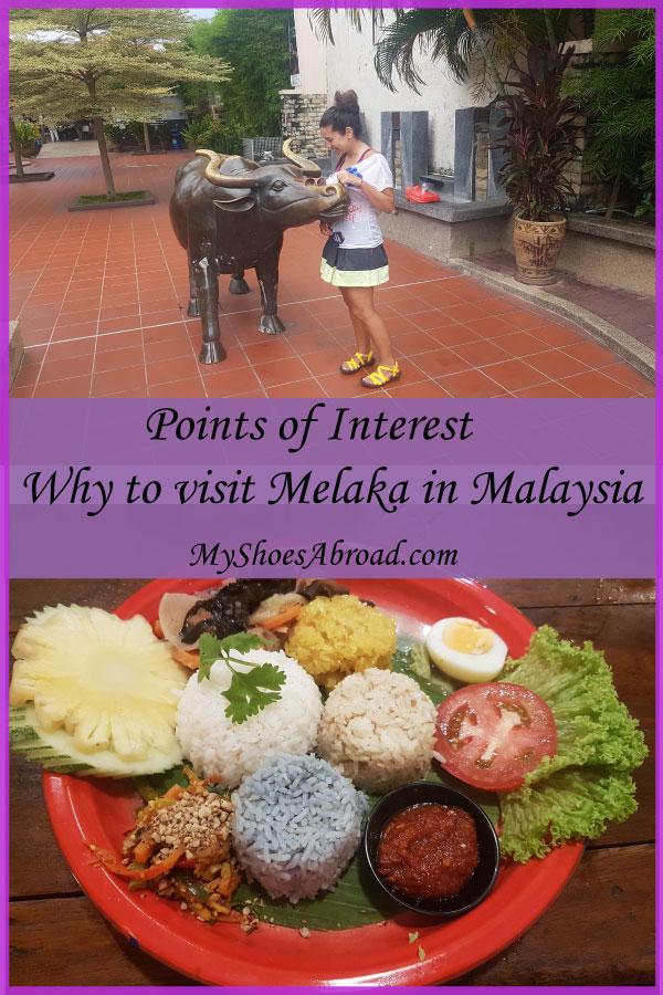 points of interest Melaka, Malaysia