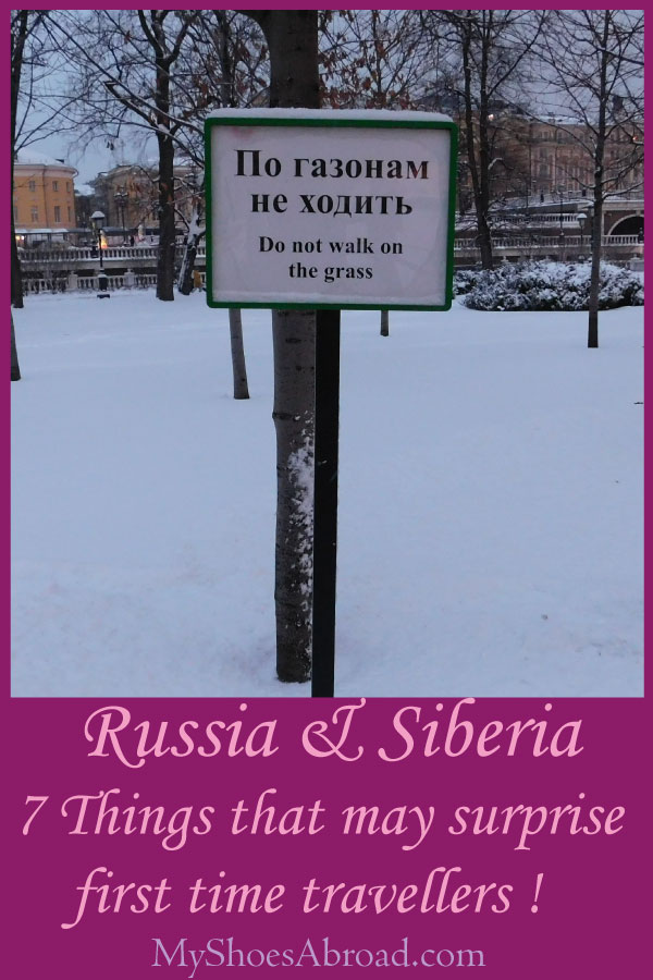 Things that travellers may find weird in Russia and Siberia!