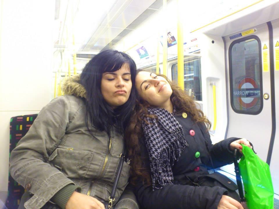 sleeping night tube london