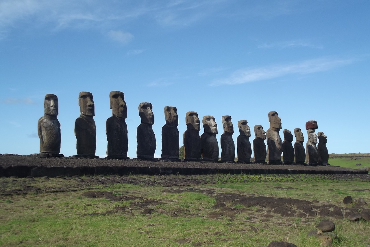 Easter Island sculptures