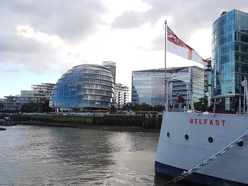 belfast thames london