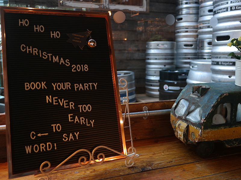 christmas book your table london