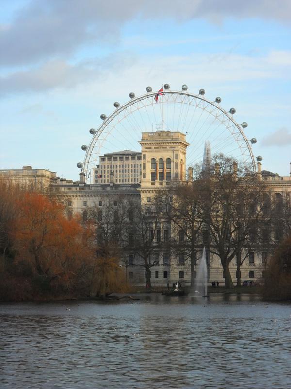 london eye st james park