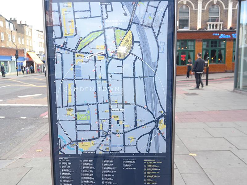 street map london