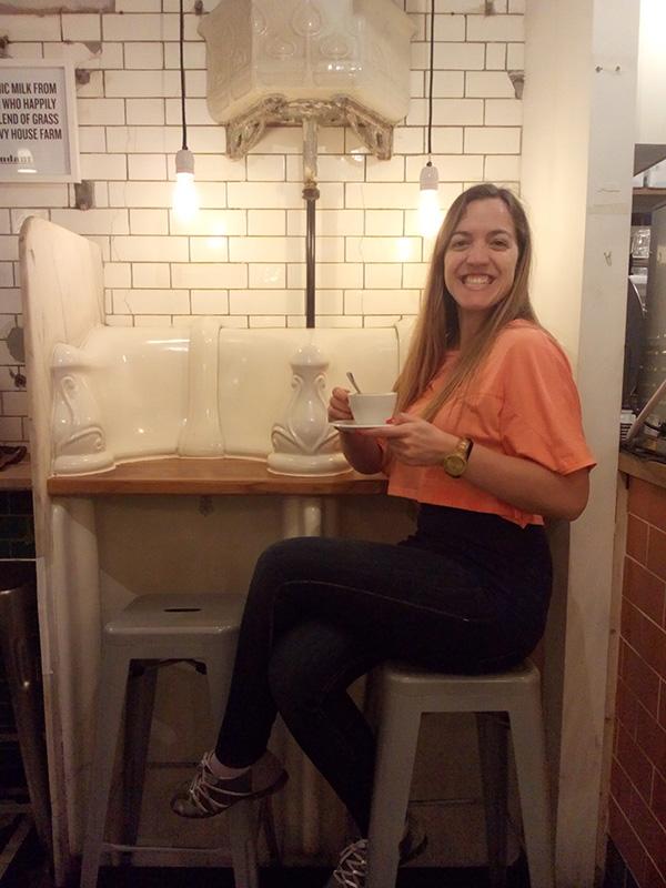 toilet cafe London