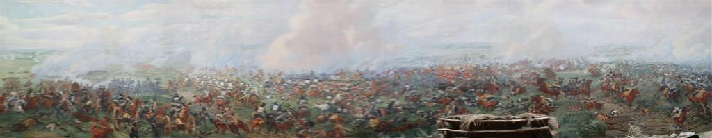 waterloo panorama museum belgium