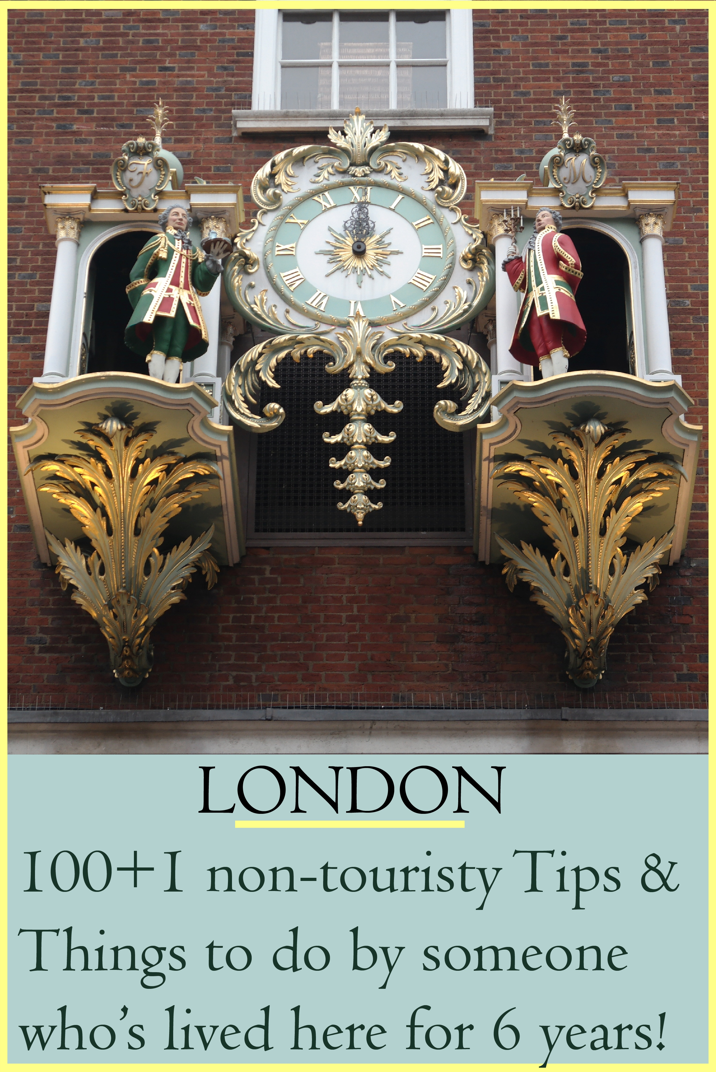 Non-touristy things to do in London