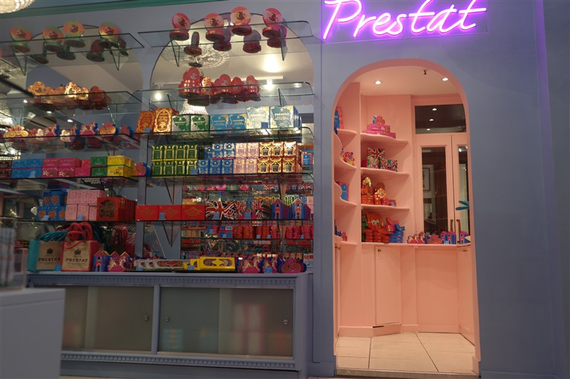 Prestat chocolates London