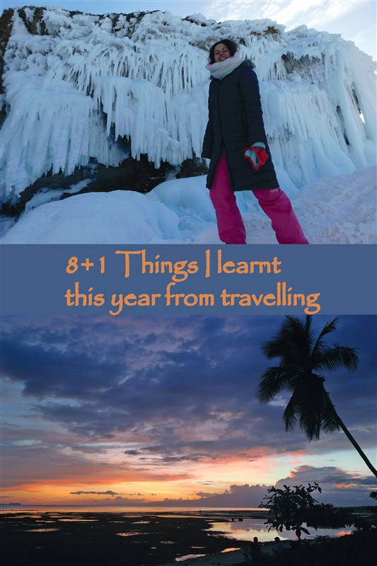 things I learned from travelling