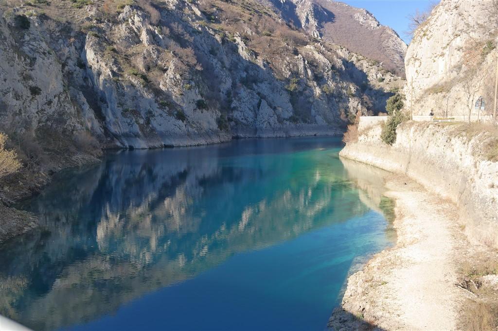 Lake of San Domenico Abruzzo Italy