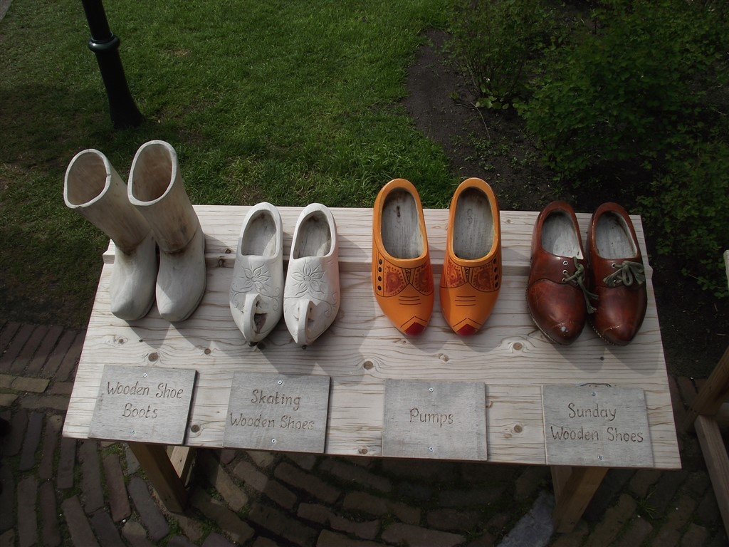 Dutch wooden clogs