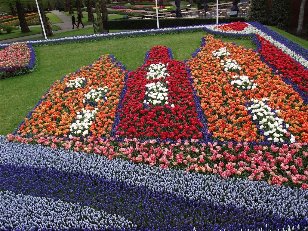 keukenhof tulip decoration