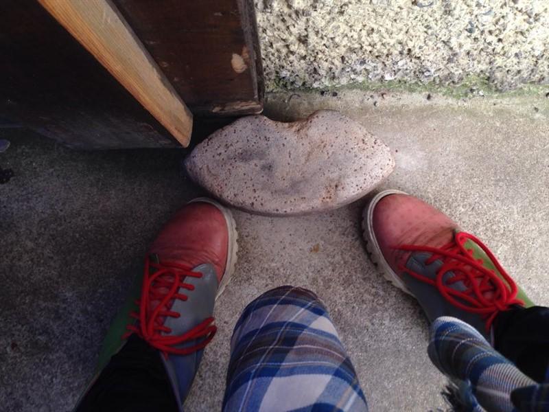 shoes stone Scotland