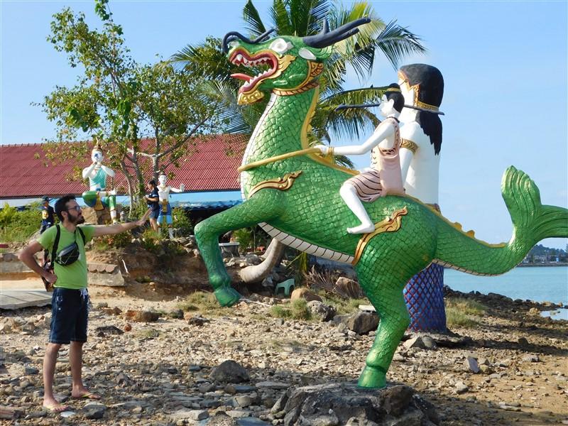 samui thailand mermaid