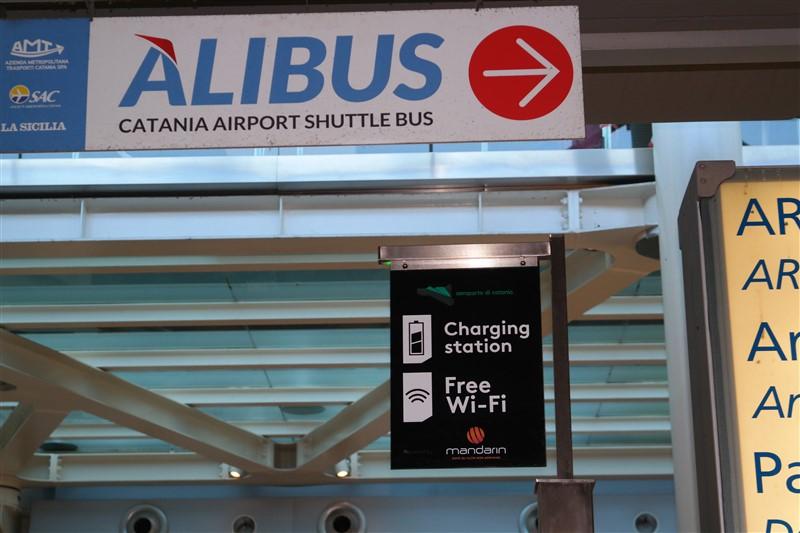 Airport to CAtania center