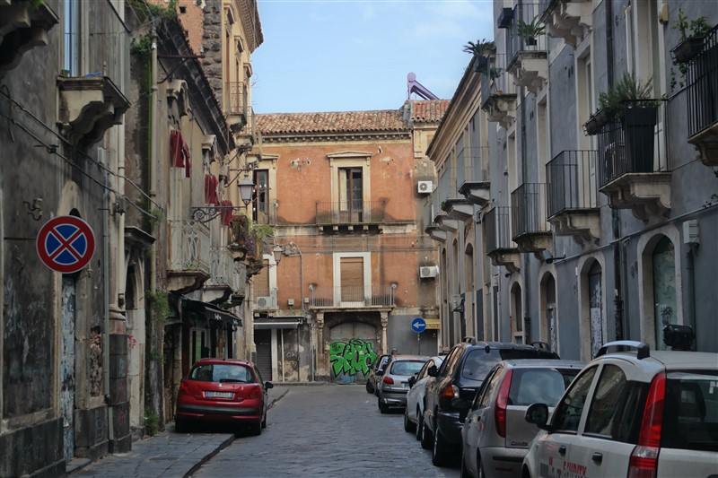 Catania old balconies