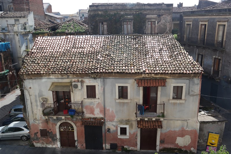 old house in Catania
