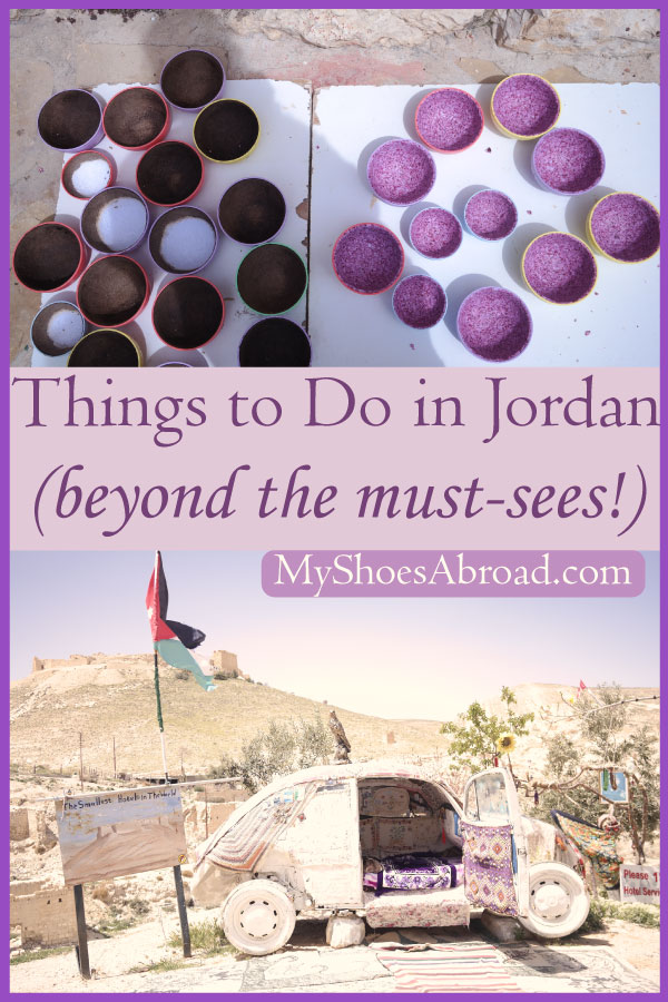 Jordan : Touristy and non touristy things to do