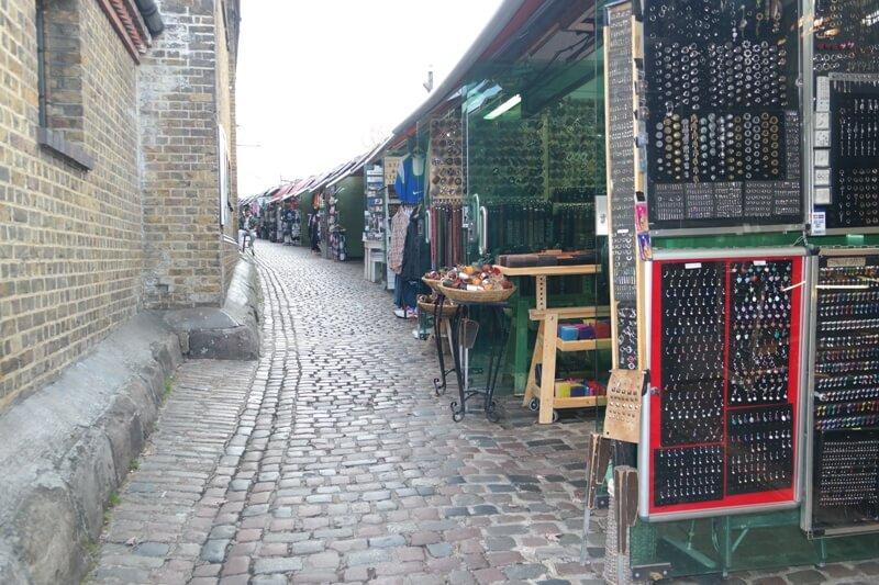 london shopping alleys