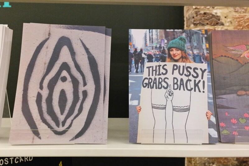 feminist postcards